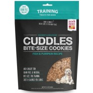 The Honest Kitchen Cuddles Fish & Pumpkin Bite-Size Cookies Dog Treats, 12 oz