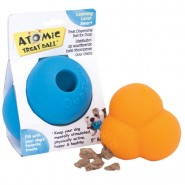 OurPet's Atomic Treat Ball Dog Toy