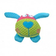 PatchworkPet TuffPuff Dog Head Dog Toy, 6 inch