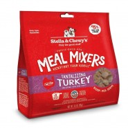 Stella & Chewy's Tantalizing Turkey Freeze Dried Meal Mixers Dog Food, 8 oz