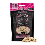 Vital Essentials Vital Cat Freeze-Dried Chicken Breast Cat Treats, 1 oz