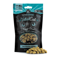 Vital Essentials Vital Cat Freeze-Dried Wild Alaskan Salmon Cat Treats, 1.1 oz