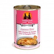 Werura Amazon Liver with Chicken and Chicken Liver in Pumpkin Soup Canned Dog Food