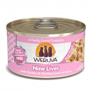 Weruva Nine Liver with Chicken & Chicken Liver in Gravy Canned Cat Food