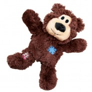 KONG Wild Knots Brown Bear Plush Dog Toy
