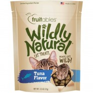 Fruitables Wildly Natural Tuna Flavor Cat Treats, 2.5 oz
