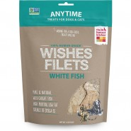 The Honest Kitchen Wishes Whitefish Filets Dehydrated Dog & Cat Treat, 3 oz