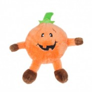 ZippyPaws Halloween Brainey Pumpkin Dog Toy
