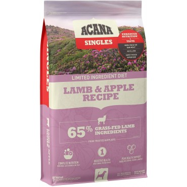 ACANA Lamb & Apple Singles Formula Dry Dog Food