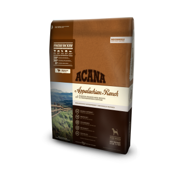 ACANA Appalachian Ranch Regional Formula Grain Free Dry Dog Food