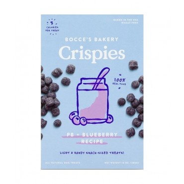 Bocce's Bakery Crispies PB & Blueberry Dog Treats, 10 oz