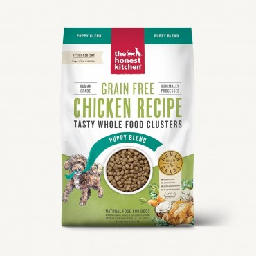 The Honest Kitchen Whole Food Clusters Chicken Recipe Grain Free Puppy Dry Dog Food