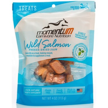 Momentum Carnivore Nutrition Freeze-Dried Wild Salmon Dog & Cat Treat
