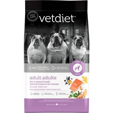 Vetdiet Adult Skin & Stomach Health Dry Dog Food, 26 lb