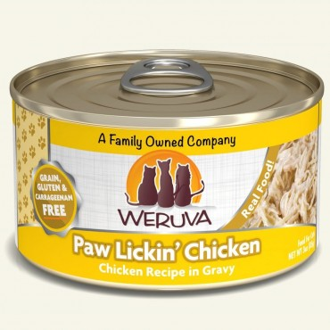 Weruva Paw Lickin' Chicken in Gravy Canned Cat Food