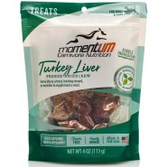 Momentum Carnivore Nutrition Freeze-Dried Turkey Liver Dog & Cat Treat