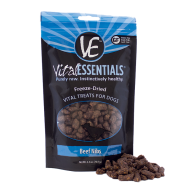 Vital Essentials Beef Nibs Freeze Dried Dog Treats, 2.5 oz