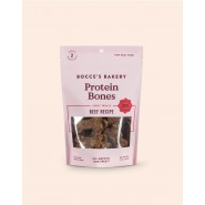 Bocce's Bakery Beef Protein Bones Jerky Dog Treats, 5 oz