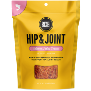 Bixbi Hip & Joint Salmon Jerky Dog Treats, 5 oz