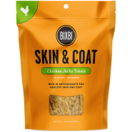 Bixbi Skin & Coat Chicken Jerky Dog Treats, 5 oz