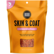 Bixbi Skin & Coat Salmon Jerky Dog Treats, 5 oz