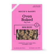 Bocce's Bakery Duck Biscuits Dog Treat, 14 oz