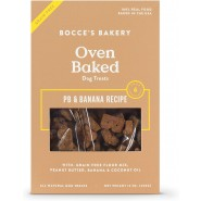 Bocce's Bakery Grain-Free Peanut Butter & Banana Biscuits Dog Treat, 12 oz