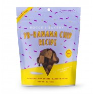 Bocce Bakery's Soft & Chewy PB-Banana Chip Dog Treats, 6 oz