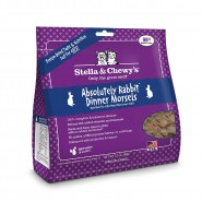 Stella & Chewy's Absolutely Rabbit Dinner Morsels Freeze Dried Cat Food