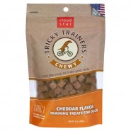 Chewy Tricky Trainers Cheddar Dog Treats, 5oz