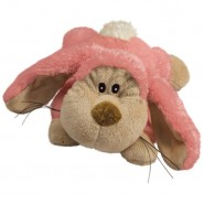 KONG Cozie Floppy the Rabbit Plush Dog Toy