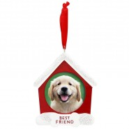 Pearhead Holiday Pet Photo Ornament