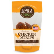 Earth Animal All Natural Chicken Strips Dog Treats, 8 oz
