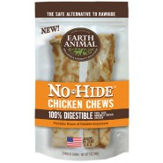 Earth Animal No-Hide Chicken Chews Dog Treat, 2 Pack