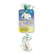 Booda Fresh N' Floss 2 Knot Rope Dog Toy