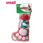 Spot Holiday Filled Dog Stocking Dog Toy