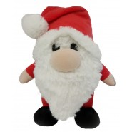 Lulubelles Holiday Power Plush Gnorm Gnome Dog Toy
