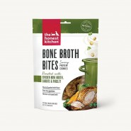 The Honest Kitchen Protein Cookies Bone Broth Bites with Chicken Bone Broth, Carrots & Parsley Dog Treats, 8 oz