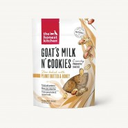 The Honest Kitchen Goat's Milk N' Cookies Baked with Peanut Butter & Honey Dog Treats, 8 oz