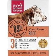 The Honest Kitchen Meal Booster Ranch Raised Beef  Wet Dog Food, 5.5 oz – Case of 12