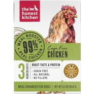 The Honest Kitchen Meal Booster Cage Free Chicken  Wet Dog Food, 5.5 oz – Case of 12