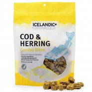 Icelandic+ Cod & Herring Combo Bites Dog Treats, 3.52 oz