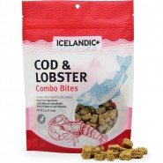 Icelandic+ Cod & Lobster Combo Bites Dog Treats, 3.52 oz