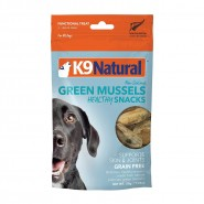K9 Natural Ocean-Farmed Green Lippid Mussel Bites Dog Treats, 1.76 oz