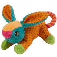 Chomper Little Chomp Mini Rope Tug Dog Toy, Rabbit