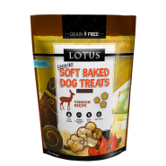 LOTUS Soft Baked Venison Grain-Free Dog Treat, 10 oz