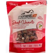 Momentum Carnivore Nutrition Freeze-Dried Beef Hearts Dog & Cat Treat