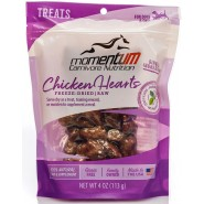 Momentum Carnivore Nutrition Freeze-Dried Chicken Hearts Dog & Cat Treat