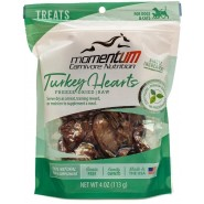 Momentum Carnivore Nutrition Freeze-Dried Turkey Hearts Dog & Cat Treat