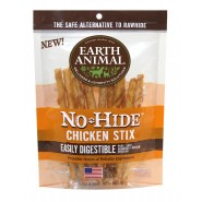 Earth Animal No-Hide Chicken Stix Dog Treat, 10 Pack